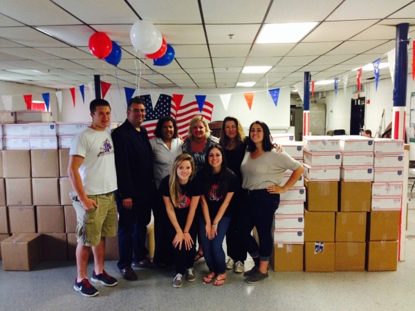 The Support 4 Soldiers Packing Day was a huge success! We are thrilled to announce that 250 care packages were assembled at the Westfield Armory for our troops overseas.